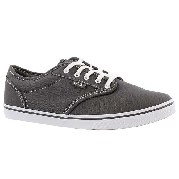 Vans Shoes   Grey Lace Up Vans Off The
